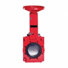 Two-way sealed medium load slurry knife gate valve