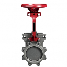 One-way sealed knife gate valve